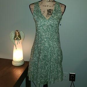 New Calvin Klein Sleeveless A-Line Dress